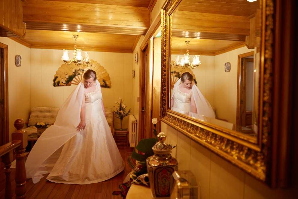 Un vestido de novia Alta Costura